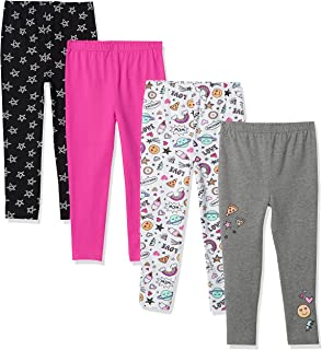 Hudson Baby Baby Boys, Doodles, Unisex Cotton Pants and Leggings, 5 Toddler, 5 Years