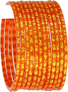 JD'Z COLLECTION Indian Jewelry Bangles Bollywood Bangle Bridal Ethnic Dailywear Glass Bangles Set for Women Traditional Bangles