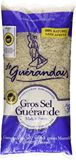 Le Guerandais Coarse Sea Salt Gros Sel De Guerande, 2.2 Pound