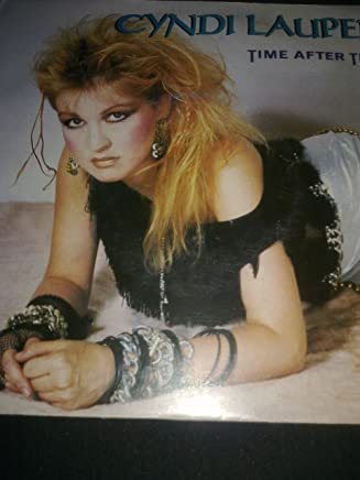 """Time After Time - Cyndi Lauper 7"""" 45"""