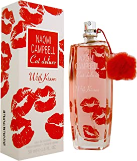 Naomi Campbell Cat Deluxe For Women By Naomi Campbell With Kisses Edt Spray 50ml