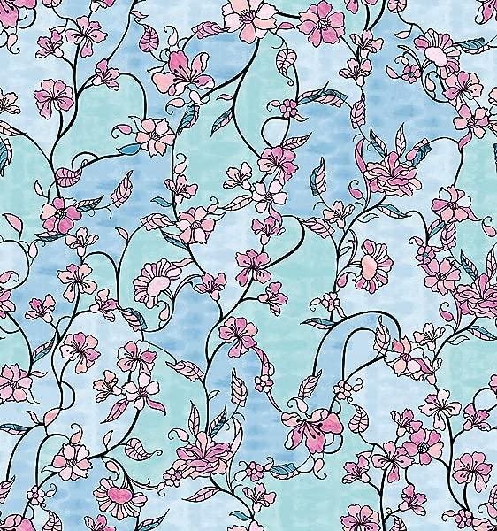 DC Fix 338 8141 Cherry Blossom Window Adhesive Film Multicolor