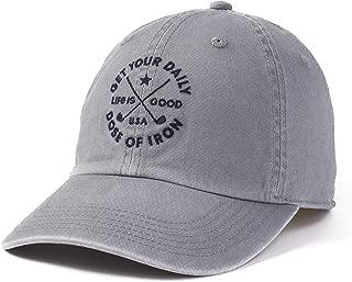 life is good golf cap