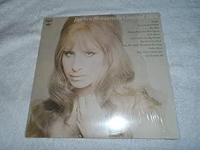 barbra streisand greatest hits vinyl
