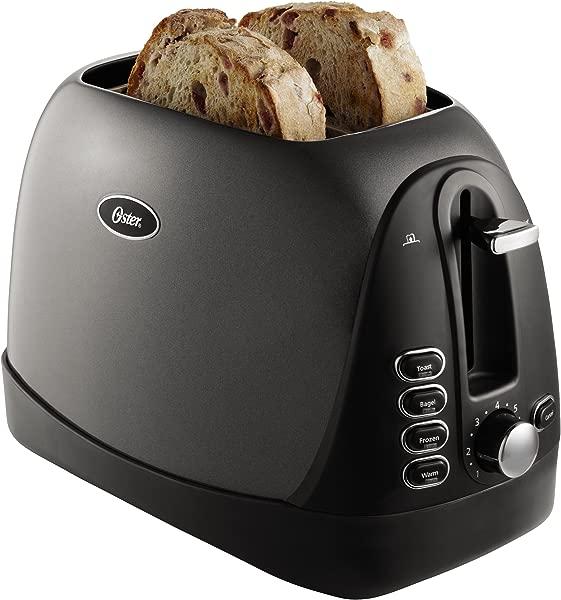 Oster 2 Slice Toaster Metallic Grey TSSTTRJBG1