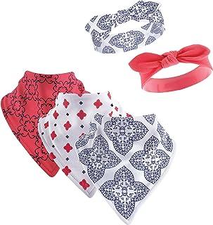 Yoga Sprout Baby Cotton Bandana Bibs and Headbands