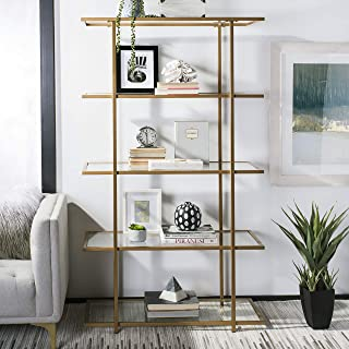 Safavieh Home Collection Francis 5 Tier Etagere, Gold/Clear