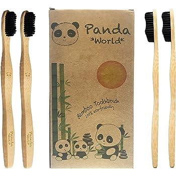 Cepillo Dientes Bambu ♻ 4 Cepillos de Dientes Ecologicos ...