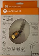 Alphaline 3 Ft. High Speed HDMI Cable