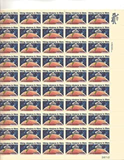 Viking Mission to Mars Full Sheet of 50 X 15 Cent Us Postage Stamps Scot #1759