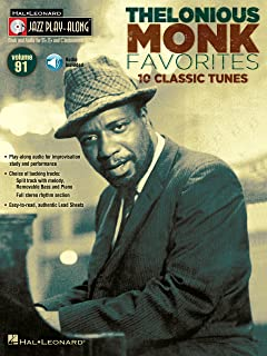 Thelonious Monk Favorites Songbook: Jazz Play-Along Volume 91