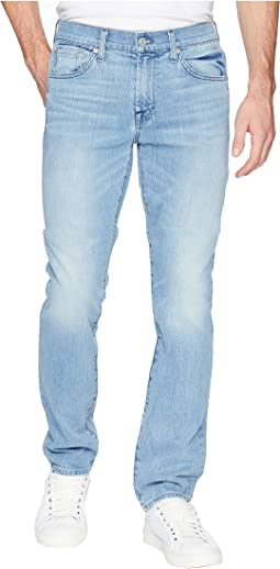 7 For All Mankind Slimmy Slim Straight Leg in Omega