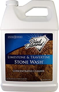 Black Diamond Stoneworks Limestone and Travertine Floor Cleaner: Natural Stone, Marble, Slate, Polished Concrete, Honed or...