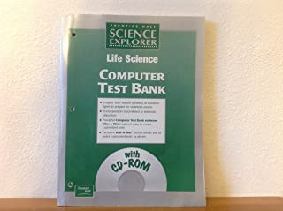 Life Science Computer Test Bank with CD-ROM (Prentice Hall Science Explorer)