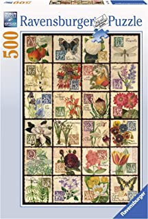 Ravensburger Vintage Flora 500 Piece Jigsaw Puzzle for Adults – Every Piece is Unique, Softclick Technology Means Pieces Fit Together Perfectly