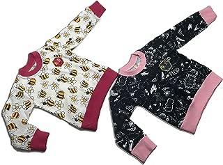 Michael's Originals 中性款幼儿 2 件套运动衫(3 岁,蜜蜂-黑色)