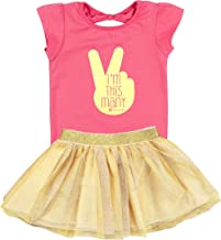 Fayfaire 2nd Birthday Shirt Outfit: Boutique Quality Second Bday Girl I'm This Many 2T-3T