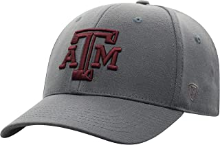 Top of the World NCAA Premium Collection One-Fit Memory Fit Hat  Charcoal Icon