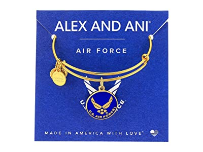 Alex and Ani US Air Force (Gold) Bracelet
