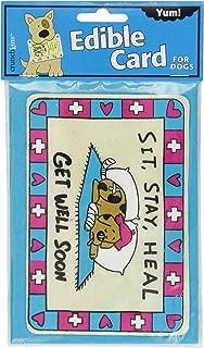 Crunchkins Edible Crunch Card, Get Well