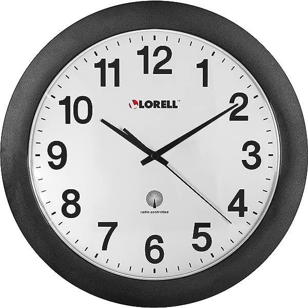 Lorell 12 Radio Controlled Wall Clock