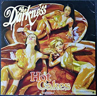 The Darkness - Hot Cakes - Rare Advertising Poster 12x12