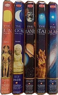 HEM Celestial Incense Variety Sun Moon Star Planet Galaxy, 100 Stick