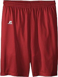 سروال قصير شبكي للأولاد الكبار من Russell Athletic