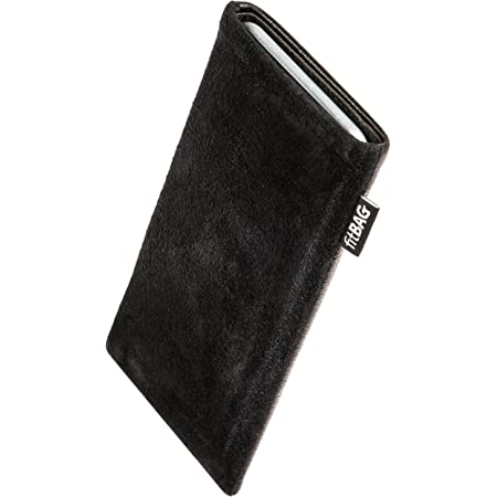 Fine nappa leather pouch case cover with MicroFibre lining for display cleaning fitBAG Beat White custom tailored sleeve for Samsung Galaxy Z Fold 2 5G Made in Germany