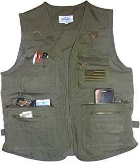 Blue Stone Safety YKK Zippers Throughout Entire Concealment Vest