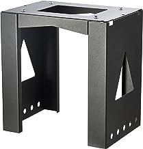 Allux 8002 montagevoet, stevige bevestiging voor pakketpostvak, zwart
