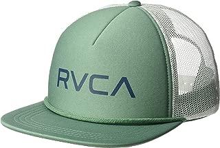 Rvca Foamy Trucker Hat Green One Size