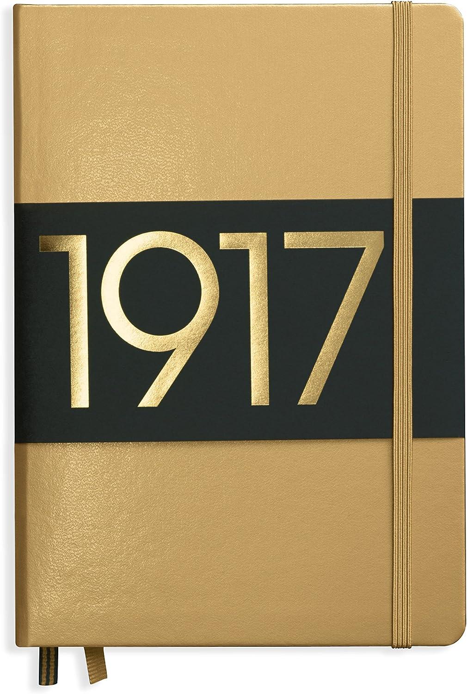 Roy human Tulum notebook A5 plain gold 355518