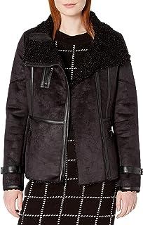 Calvin Klein womens Shearling Jacket