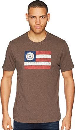 Americana Baseball Crusher Tee