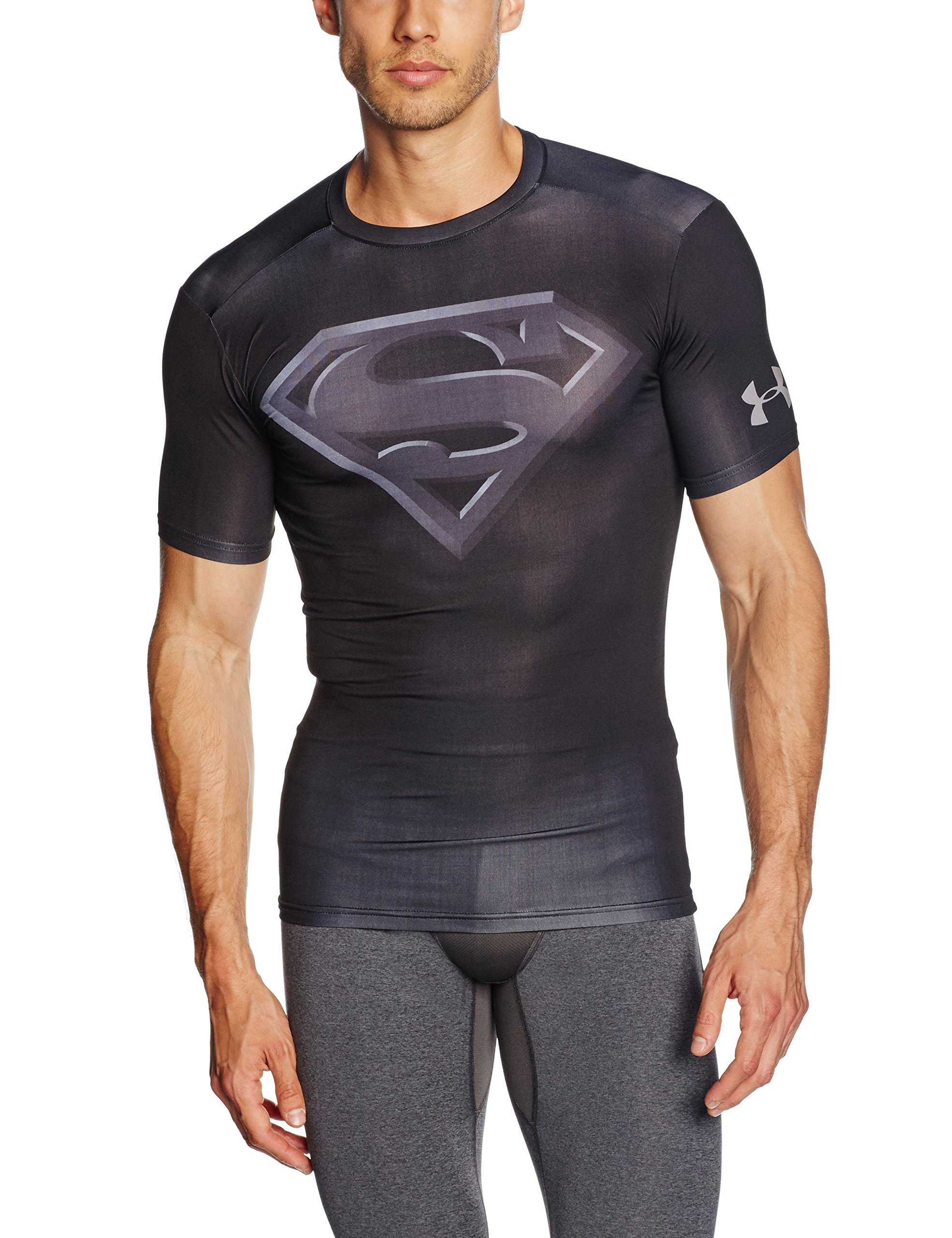 Under Armour Short Sleeve Alter EGO Compression T-Shirt - SS17 - Medium - Black: Amazon.com.au: Sports, Fitness & Outdoors