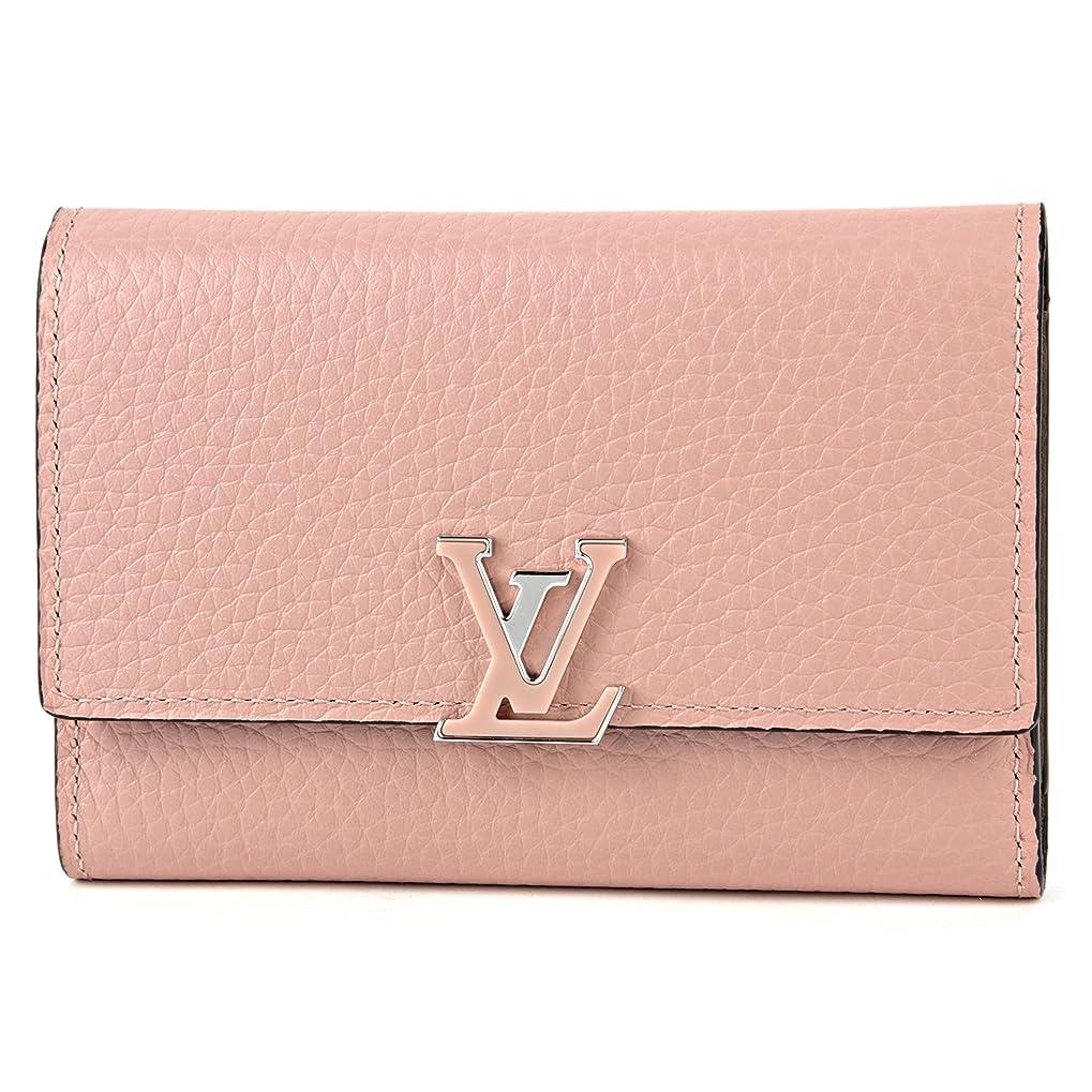 常習的ミュートパリティルイヴィトン(Louis Vuitton) 3つ折り財布 M62156 トリヨン ピンク [並行輸入品]