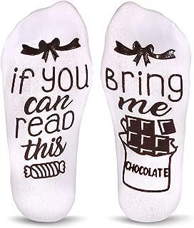 Cavertin Women's Novelty Chocolate Socks