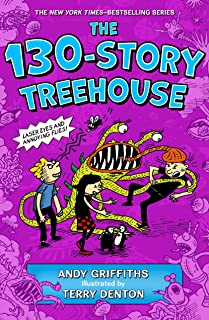 The 130-Story Treehouse: Laser Eyes and Annoying Flies (The Treehouse Books, 10)