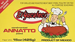 El Yucateco Achiote Red Paste, 15 oz.