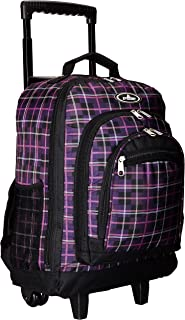 Everest Wheeled Backpack with Pattern