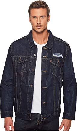 Levi's® Mens - Seahawks Sports Denim Trucker