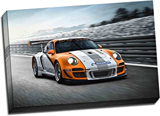 Porsche Gt3R híbrido Canvas Art Print–Póster de 30