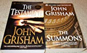 John Grisham 2 Paperback Set: The Testament, The Summons