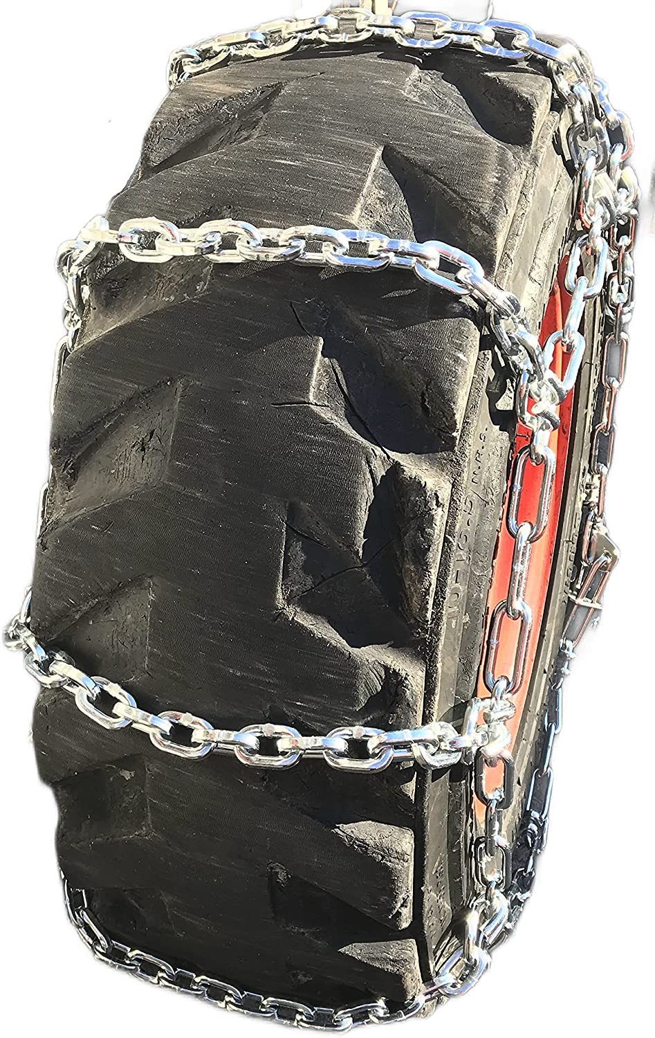 TireChain.com 7-15 Forklift 7.0mm Boron Square Alloy Chains 100% Recommended quality warranty Tire