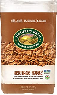 Nature's Path Heritage Flakes Whole Grains Cereal, Healthy, Organic, 32 Ounce Box (Pack of 6)