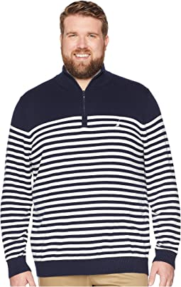 Big & Tall 1/2 Zip Mock Pullover