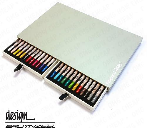 Bruynzeel design Künstler Box von 24 stellstifte