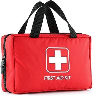 کیت کمکهای اولیه 220 قطعه با تجهیزات پزشکی درجه یک از استاندارد های FDA و OSHA فراتر می رود ، عالی برای خانه ، فضای باز ، دفتر ، ماشین ، مسافرت ، کمپینگ ، پیاده روی ، قایقرانی ، در هر شرایط اضطراری.
