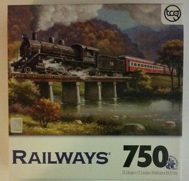 Railways 750 Piece Puzzle Iron Horse No. 20
